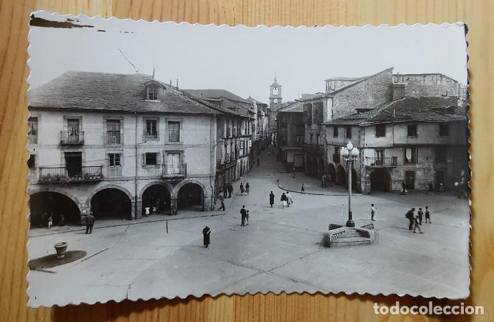 PONFERRADA PLAZA DE LA ENCINA Y CALLE DE ISIDRO RUEDA ED. ARRIBAS Nº 35 (Postales - España - Castilla y León Moderna (desde 1940))
