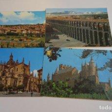 Postales: SEGOVIA LOTE 10 POSTALES TARJETAS POSTALES ANTIGUAS. Lote 153868742