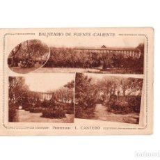 Postales: MIRANDA DE EBRO.(BURGOS).- BALNEARIO DE FUENTE-CALIENTE. Lote 158820998