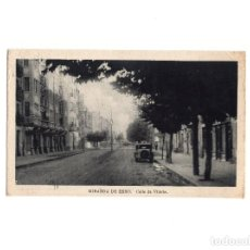 Postales: MIRANDA DE EBRO.(BURGOS).- CALLE DE VITORIA. Lote 154045750