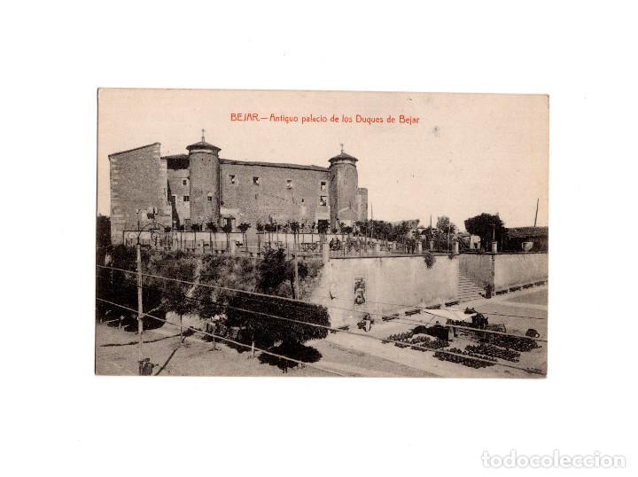 BÉJAR.(SALAMANCA).- ANTIGUO PALACIO DE LOS DUQUES DE BÉJAR (Postales - España - Castilla y León Antigua (hasta 1939))