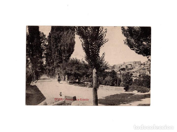 BÉJAR.(SALAMANCA).- AVENIDA DE LA ESTACIÓN (Postales - España - Castilla y León Antigua (hasta 1939))