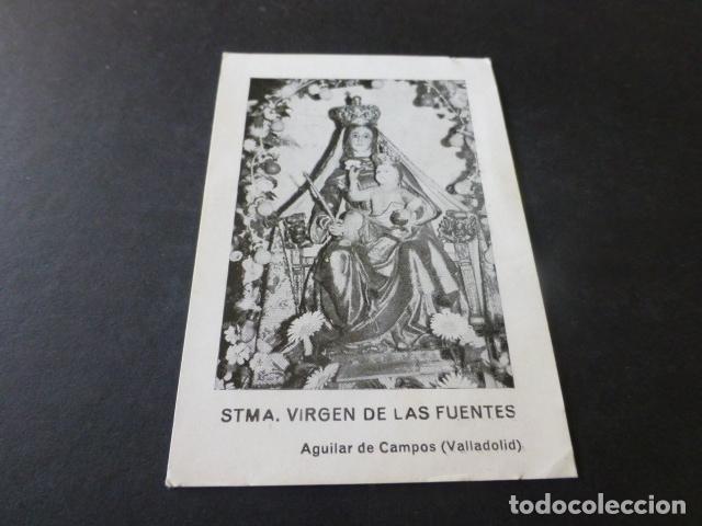 AGUILAR DE CAMPOS VALLADOLID SANTISIMA VIRGEN DE LAS FUENTES (Postales - España - Castilla y León Antigua (hasta 1939))
