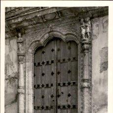 Postales: BRIVIESCA – BURGOS – SANTUARIO DE SANTA CASILDA – PUERTA PRINCIPAL - 1955 – 9X14. Lote 154307698