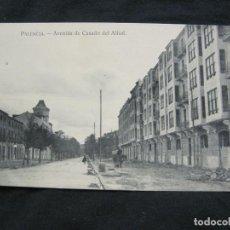 Postales: PALENCIA-AVENIDA DE CASADO DEL ALISAL-POSTAL ANTIGUA-(57.563). Lote 154325778