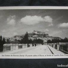 Postales: SAN ESTEBAN DE GORMAZ-PUENTE SOBRE EL DUERO-18-FOTOGRAFICA CRESPO-POSTAL ANTIGUA-(57.571). Lote 154327078