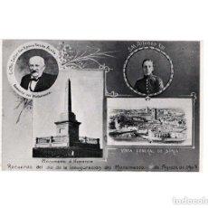 Postales: SORIA.- RECUERDO DEL DÍA DE LA INAUGURACIÓN DEL MONUMENTO A NUMANCIA. 1905. VISTA GENERAL. Lote 154554042