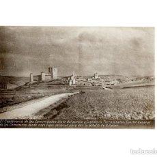 Postales: TORRELOBATON.(VALLADOLID).- VISTA DEL PUEBLO Y CASTILLO. Lote 154700150