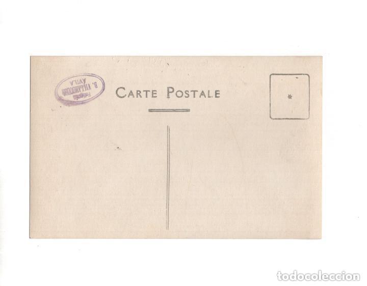 Postales: OLMEDO.(VALLADOLID).- CASA CONSISTORIAL Y PLAZA MAYOR. POSTAL FOTOGRÁFICA. B. VILLAESOUSA. ÁVILA - Foto 2 - 154717918
