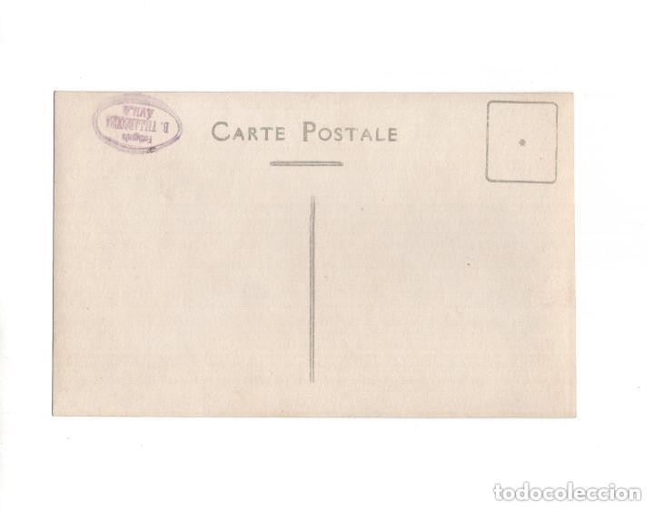 Postales: OLMEDO.(VALLADOLID).- CASA CONSISTORIAL Y PLAZA MAYOR. POSTAL FOTOGRÁFICA. B. VILLAESOUSA. ÁVILA - Foto 2 - 154717974