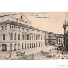 Postales: VALLADOLID.- TEATRO CALDERON.(RARA). . Lote 154718114