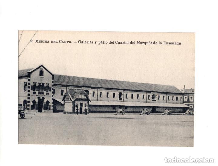 MEDINA DEL CAMPO.(VALLADOLID).- GALERIAS Y PATIO DEL CUARTEL DEL MARQUÉS DE LA ENSENADA (Postales - España - Castilla y León Antigua (hasta 1939))