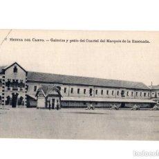 Postales: MEDINA DEL CAMPO.(VALLADOLID).- GALERIAS Y PATIO DEL CUARTEL DEL MARQUÉS DE LA ENSENADA . Lote 154719014