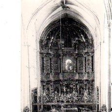 Postales: TARJETA POSTAL DE TAMARA DE CAMPOS. PALENCIA. IGLESIA DE SAN HIPOLITO. ALTAR MAYOR.. Lote 154778442