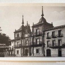 Postales: POSTAL FOTOGRÁFICA. L.NIETO. CASA CONSISTORIAL. PONFERRADA. LEÓN.. Lote 154841362