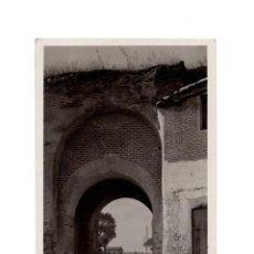 Postales: OLMEDO.(VALLADOLID).- ARCO DE SAN MIGUEL. Lote 154991018