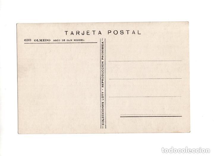 Postales: OLMEDO.(VALLADOLID).- ARCO DE SAN MIGUEL - Foto 2 - 154991018