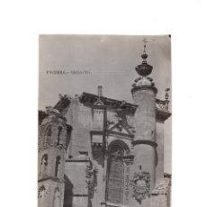 Postales: PEÑAFIEL.(VALLADOLID).- POSTAL FOTOGRÁFICA. FACHADA CARACOL (CONVENTO DE SAN PABLO). Lote 154993418