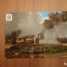 Postales: POSTAL SORIA ALAMEDA DE CERVANTES CIRCULADA. Lote 155193046