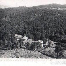 Postales: TARJETA POSTAL DE ARENAS DE SAN PEDRO, AVILA. SANTUARIO DE SAN PEDRO DE ALCANTARA. PP. FRANCISCANOS.. Lote 163609469