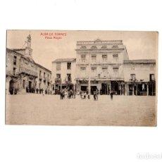 Postales: ALBA DE TORMES.(SALAMANCA).- PLAZA MAYOR. Lote 155300818