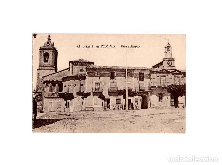 ALBA DE TORMES.(SALAMANCA).- PLAZA MAYOR (Postales - España - Castilla y León Antigua (hasta 1939))