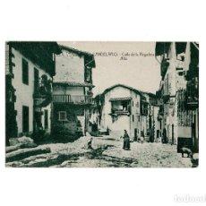 Postales: CANDELARIO.(SALAMANCA).- CALLE DE LA REGADERA. Lote 155307594