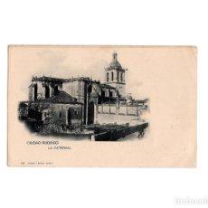 Postales: CIUDAD RODRIGO.(SALAMANCA).- LA CATEDRAL. Lote 155397582
