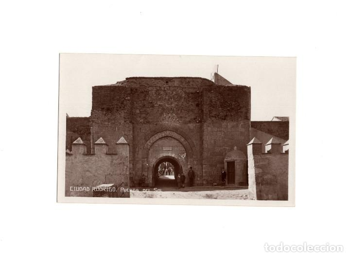 CIUDAD RODRIGO.(SALAMANCA).- PUERTA DEL SOL. POSTAL FOTOGRÁFICA (Postales - España - Castilla y León Antigua (hasta 1939))