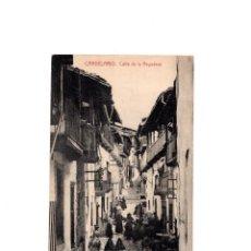 Postales: CANDELARIO.(SALAMANCA).- CALLE DE LA REGADERA. Lote 155422390