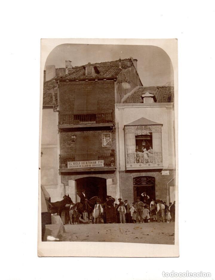 PEÑAFIEL.(VALLADOLID).- POSTAL FOTOGRÁFICA (Postales - España - Castilla y León Antigua (hasta 1939))
