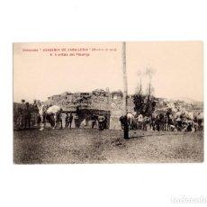 Postales: COLECCIÓN ACADEMIA DE CABALLERÍA.- A ORILLAS DEL PISUERGA.. Lote 155454046