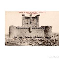 Postales: COLECCIÓN ACADEMIA DE CABALLERÍA.- CASTILLO FUENSALDAÑA. Lote 155454890