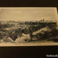 Postales: ZAMORA VISTA DESDE LOS ALTOS DE VALORIO. Lote 155462522
