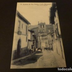 Postales: ARENAS DE SAN PEDRO AVILA CALLE MESONES. Lote 155473770