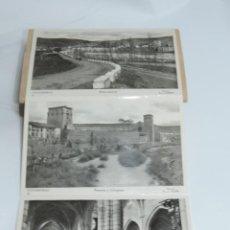 Postales: CUADERNILLO DE 10 ANTIGUAS FOTO POSTALES DE LA COLEGIATA Y MUSEO DE COVARRUBIAS, BURGOS, SEGUNDA SER. Lote 155577882