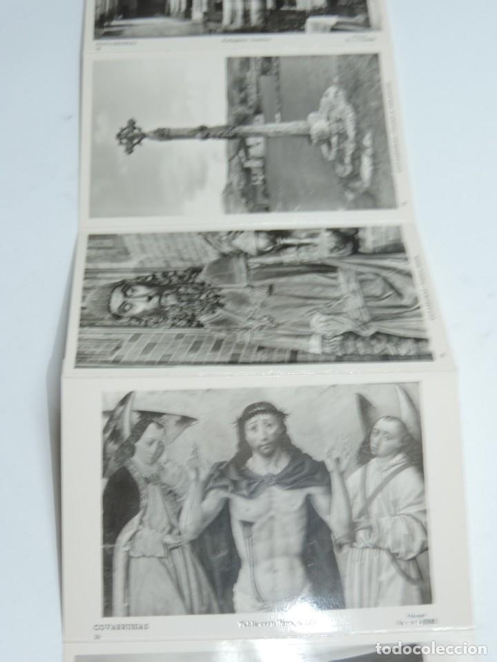 Postales: CUADERNILLO DE 10 ANTIGUAS FOTO POSTALES DE LA COLEGIATA Y MUSEO DE COVARRUBIAS, BURGOS, SEGUNDA SER - Foto 4 - 155577882