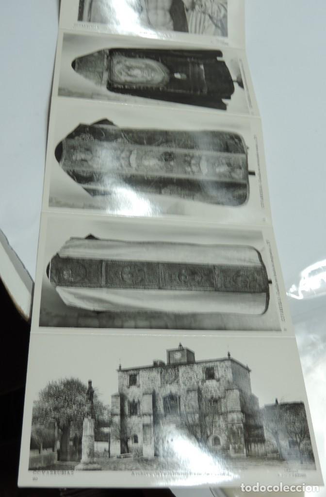 Postales: CUADERNILLO DE 10 ANTIGUAS FOTO POSTALES DE LA COLEGIATA Y MUSEO DE COVARRUBIAS, BURGOS, SEGUNDA SER - Foto 5 - 155577882