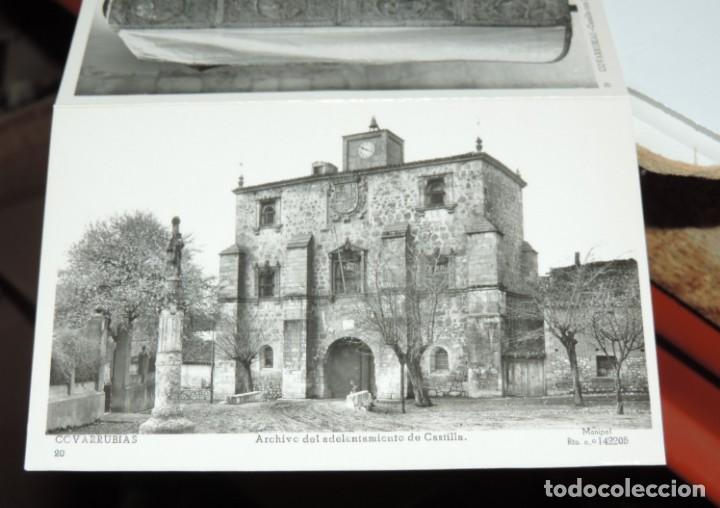 Postales: CUADERNILLO DE 10 ANTIGUAS FOTO POSTALES DE LA COLEGIATA Y MUSEO DE COVARRUBIAS, BURGOS, SEGUNDA SER - Foto 6 - 155577882