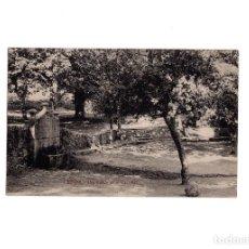 Postales: BÉJAR.(SALAMANCA).- UNA FUENTE EN EL CASTAÑAR.. Lote 155818950