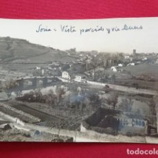 Postales: SORIA. VISTA PARCIAL Y RIO DUERO. . Lote 156499530