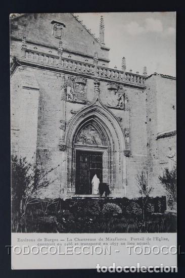POSTAL ENVIRONS DE BURGOS CHARTREUSE ( CARTUJA ) DE MIRAFLORES . SCHAAR & DATHE CA AÑO 1900 (Postales - España - Castilla y León Antigua (hasta 1939))