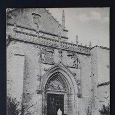 Postales: POSTAL ENVIRONS DE BURGOS CHARTREUSE ( CARTUJA ) DE MIRAFLORES . SCHAAR & DATHE CA AÑO 1900. Lote 156624522