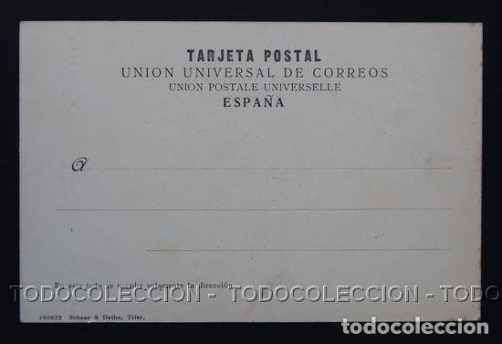 Postales: POSTAL ENVIRONS DE BURGOS CHARTREUSE ( CARTUJA ) DE MIRAFLORES . SCHAAR & DATHE CA AÑO 1900 - Foto 2 - 156624522