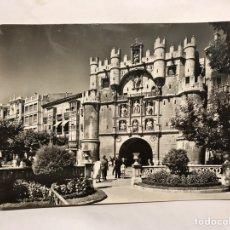 Postales: BURGOS. POSTAL NO.1006, ARCO DE SANTA MARÍA. EDITA: FISA. FOTO ALFONSO (H.1950?). Lote 156902340