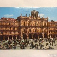 Postales: SALAMANCA. POSTAL ANIMADA NO.6, PLAZA MAYOR. EDITA: CERVANTES PAPELERÍA (A..1984). Lote 156923065