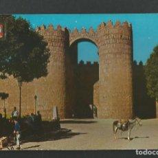 Postales: POSTAL SIN CIRCULAR - AVILA 7 - PUERTA DE SAN VICENTE - EDITA ESCUDO DE ORO. Lote 156923482