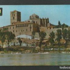 Postales: POSTAL SIN CIRCULAR - ZAMORA 2 - VISTA GENERAL DE LA CATEDRAL - EDITA ESCUDO DE ORO. Lote 156923498