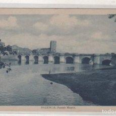 Postales: PALENCIA PUENTE MAYOR. ESCRITA EN 1944 SIN CIRCULAR. . Lote 156997598