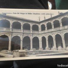 Postales: SALAMANCA PATIO DEL COLEGIO DE NOBLES IRLANDESES. Lote 158109034